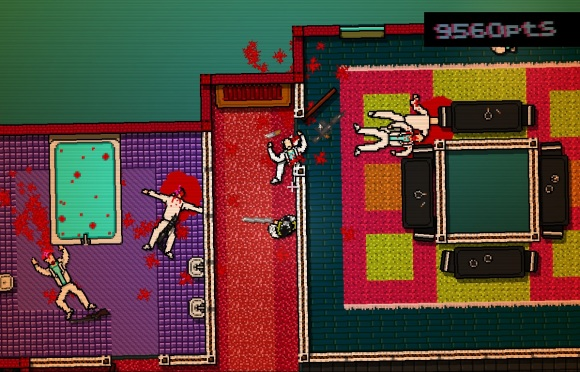 Hotline Miami. Room of the Dead.