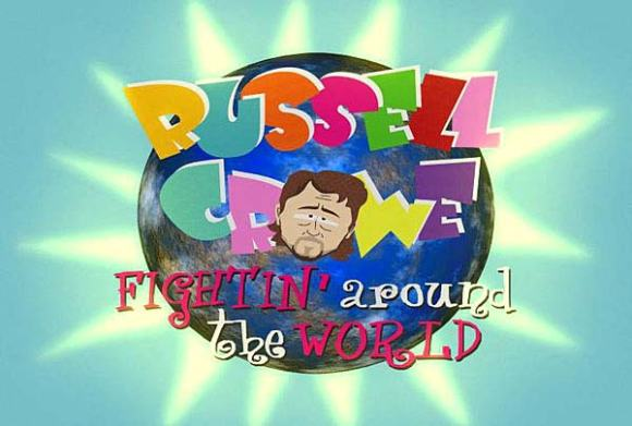 Russell Crowe Fightin' Around The World
