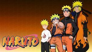 Naruto boy to man.