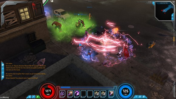 marvel heroes visually busy
